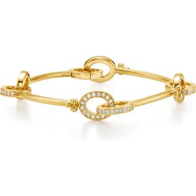 Temple St. Clair Orsina Pave Diamond Link Bracelet
