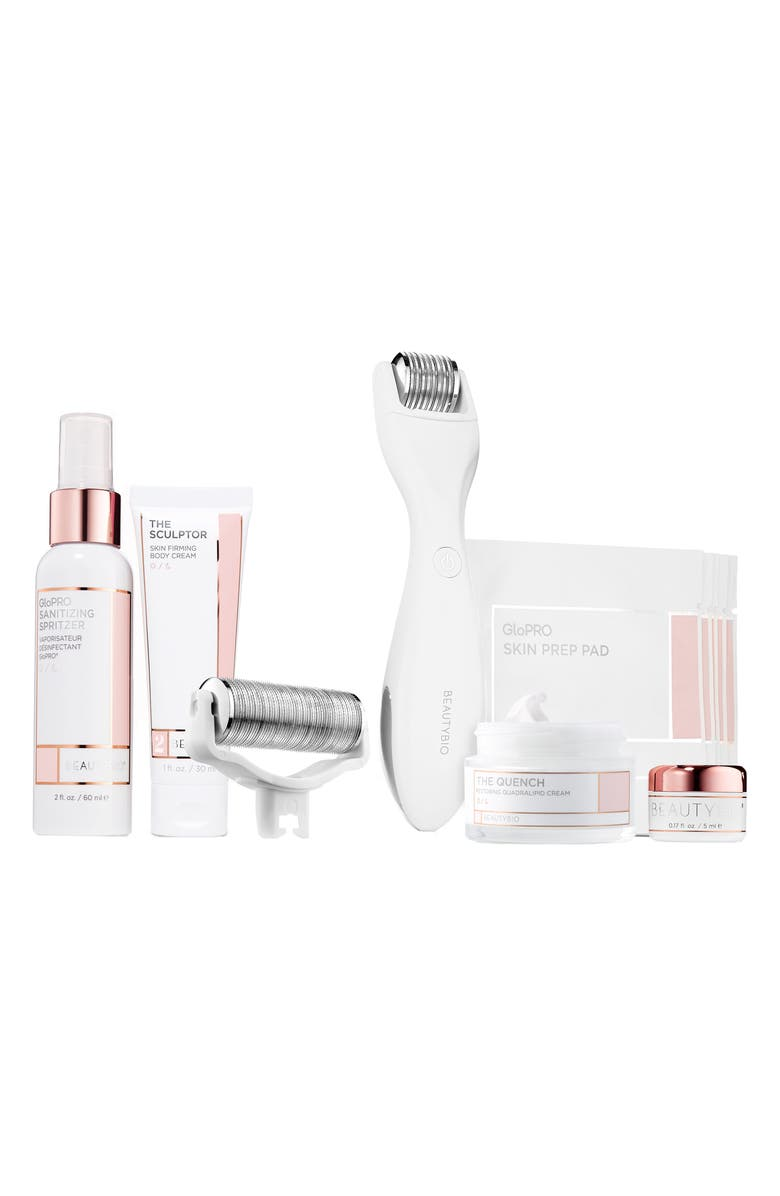 BEAUTYBIO GloPRO<sup>®</sup> Microneedling Regeneration Head-to-Toe Glo Set, Main, color, NO COLOR