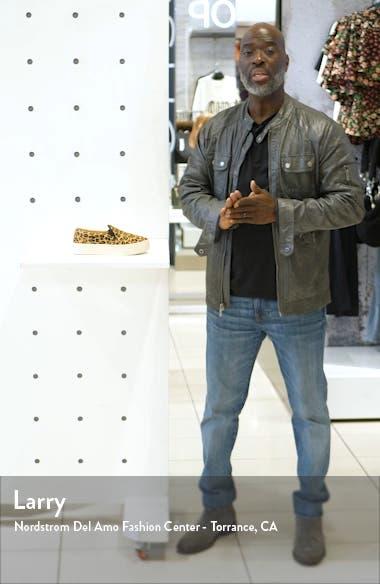 Bondi Genuine Calf Hair Slip-On Sneaker, sales video thumbnail