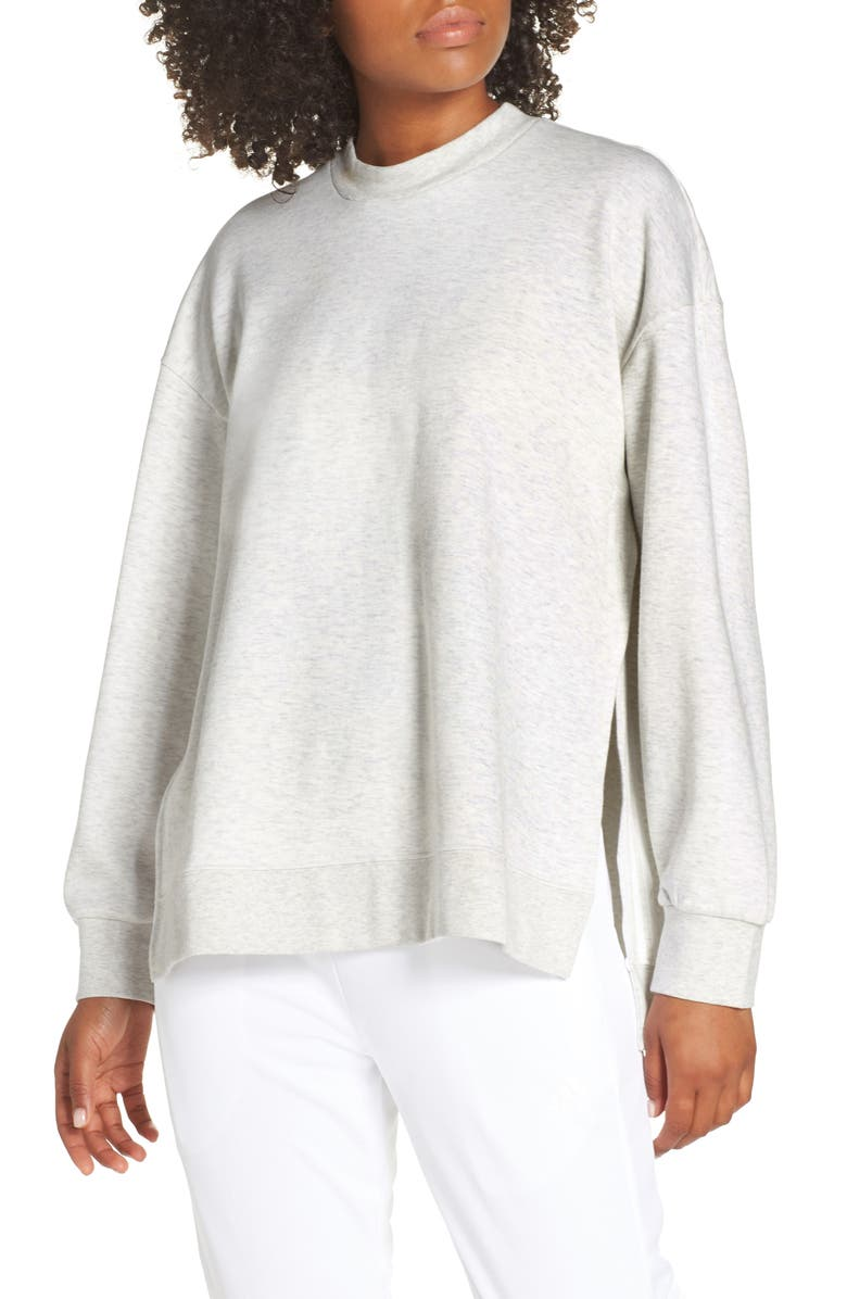ADIDAS Wanderlust Second Layer Sweatshirt, Main, color, 100