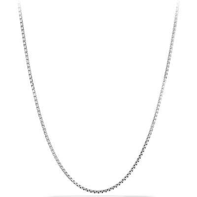 David Yurman Chain Small Box Chain Necklace