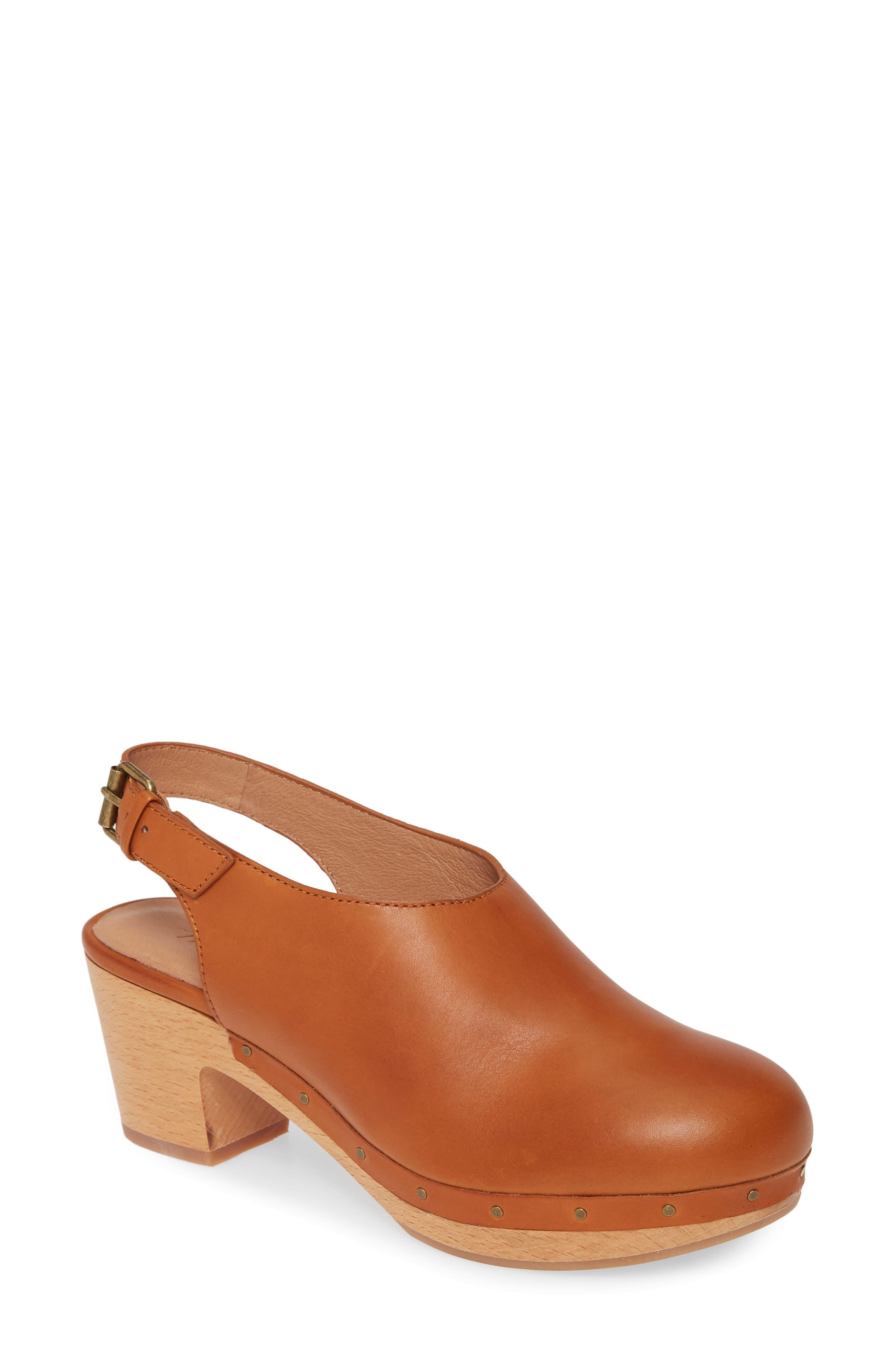 Madewell Shoes The Marlo Slingback Clog