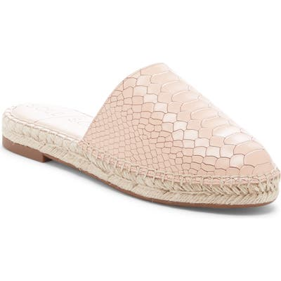 Sole Society Sadelle Espadrille Mule- Pink