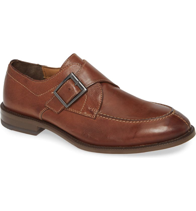 J&M 1850 Jasper Monk Strap Shoe, Main, color, 206