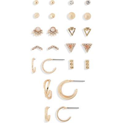 Bp. Set Of 12 Stud & Huggie Earrings