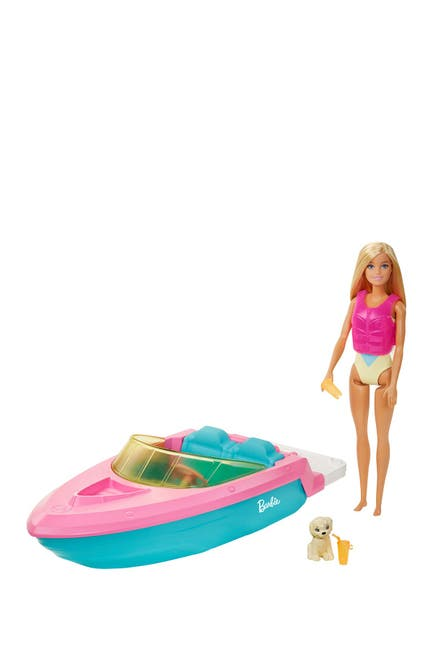 Image of Mattel Barbie® Doll and Boat