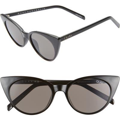 Quay Australia Aphrodite 5m Cat Eye Sunglasses - Black/ Smoke