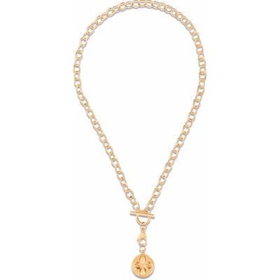 Ellie Vail Sasha Clover Medallion Necklace