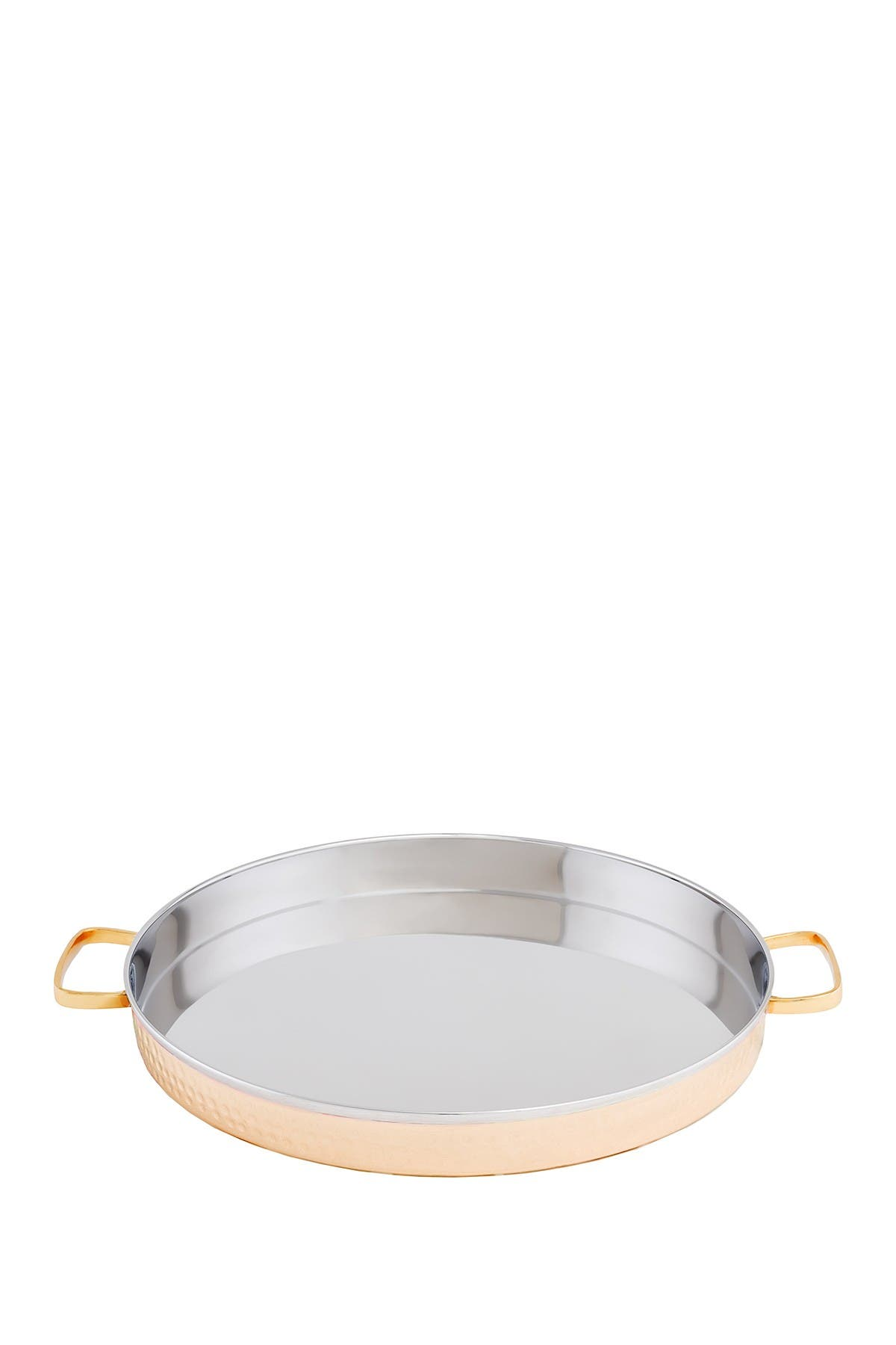 Image of ODI HOUSEWARES Two-Ply Solid Copper/Stainless Steel Hammered Tray