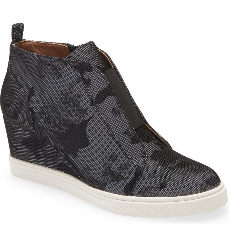 LINEA PAOLO 'Felicia' Wedge Sneaker, Main, color, 003