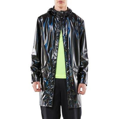 Rains Waterproof Long Jacket, Black