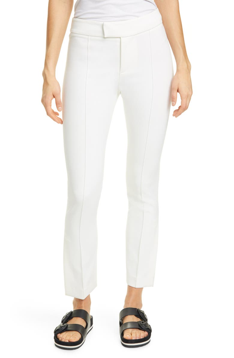 SMYTHE Stovepipe Pants, Main, color, WHITE