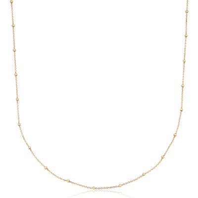 Monica Vinader 16-Inch Fine Beaded Chain