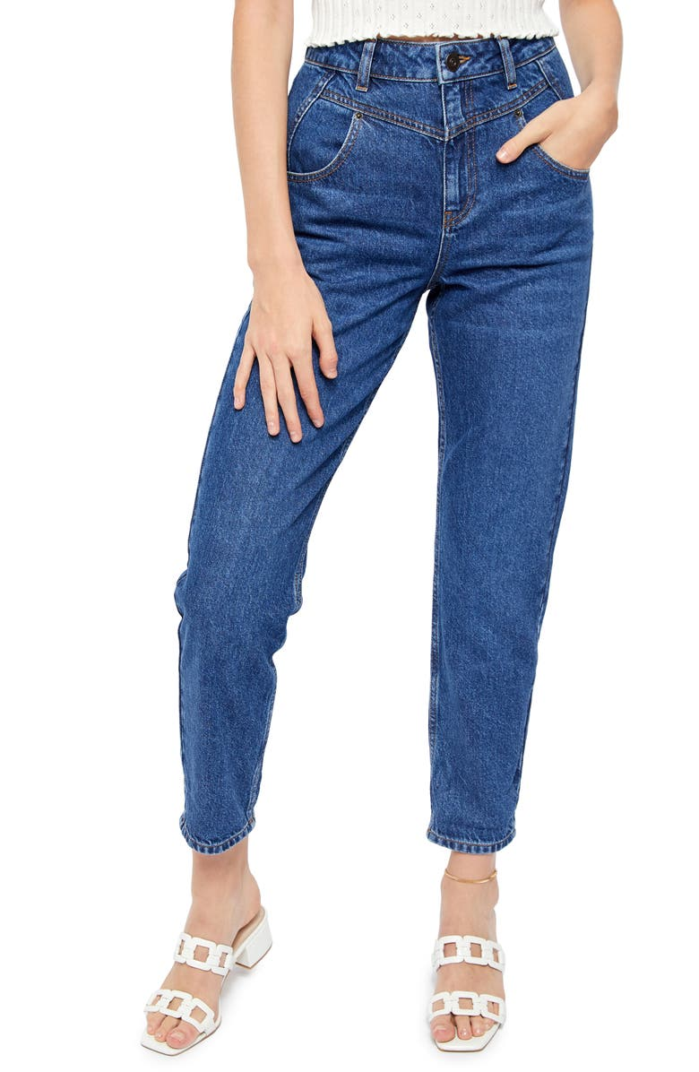 BDG URBAN OUTFITTERS '80s Seamed Mom Jeans, Main, color, 486