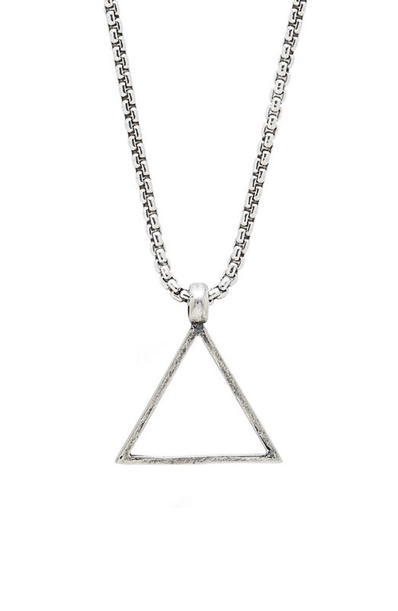 Degs Sal Triangle Pendant Necklace