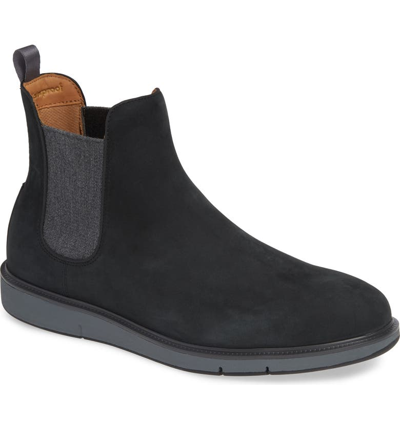 SWIMS Motion Waterproof Chelsea Boot, Main, color, 001