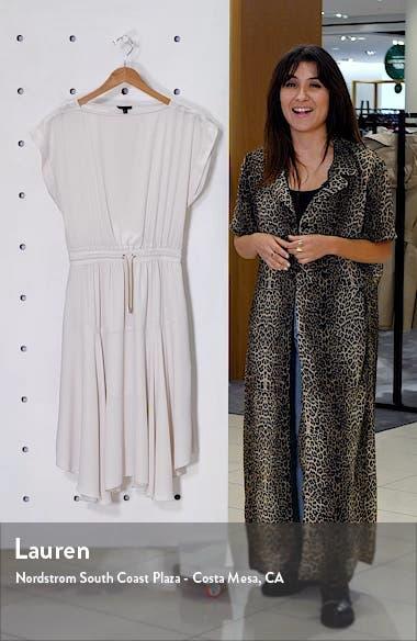 Drawstring Waist Dress, sales video thumbnail