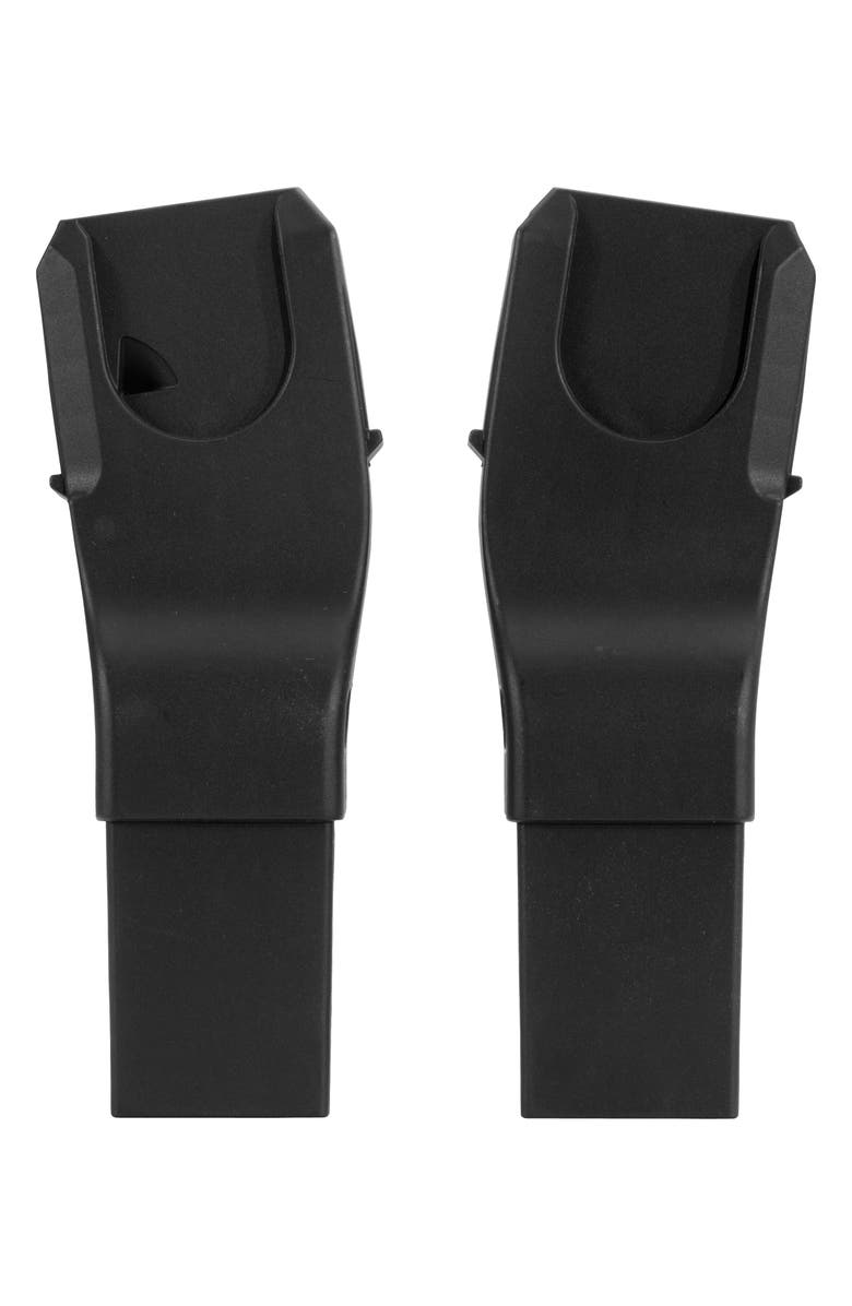 SILVER CROSS Wave/Coast Lower Car Seat Adapters, Main, color, BLACK