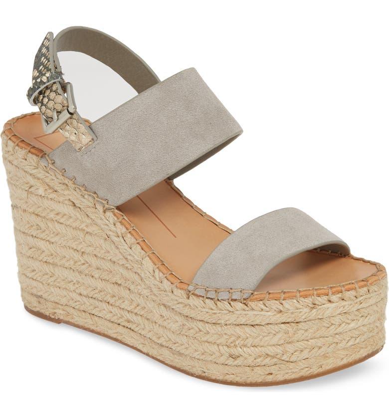 DOLCE VITA Spiro Platform Wedge Sandal, Main, color, 033