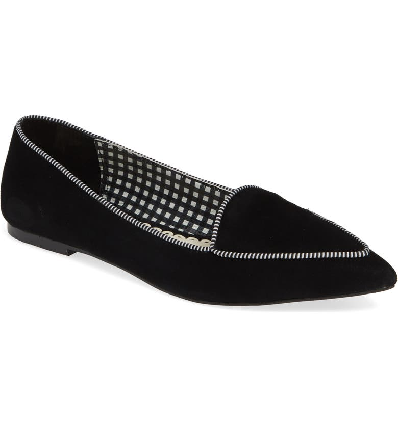 1901 Laven Pointy Toe Flat, Main, color, 001