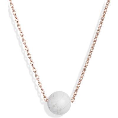 Knotty Pendant Necklace