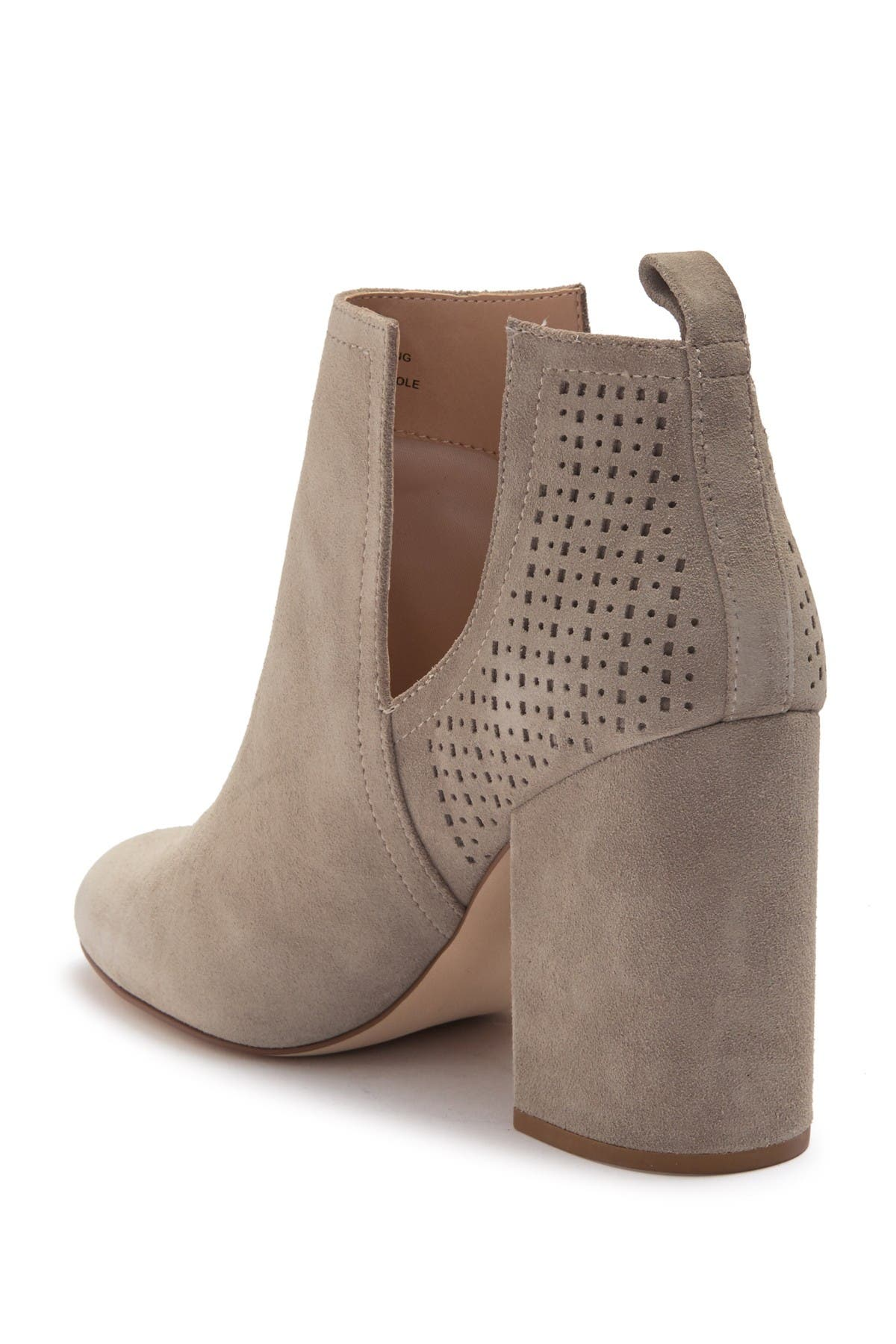 Norelle Perforated Suede Ankle Boot