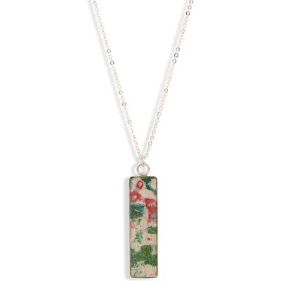 Rebel Nell Nechelle Bar Pendant Necklace