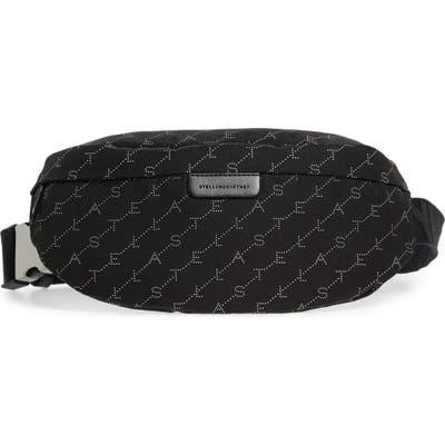 Stella Mccartney Monogram Belt Bag - Black