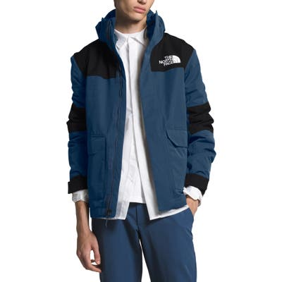The North Face Cypress Heatseeker(TM) Eco Water Repellent Hooded Jacket, Blue