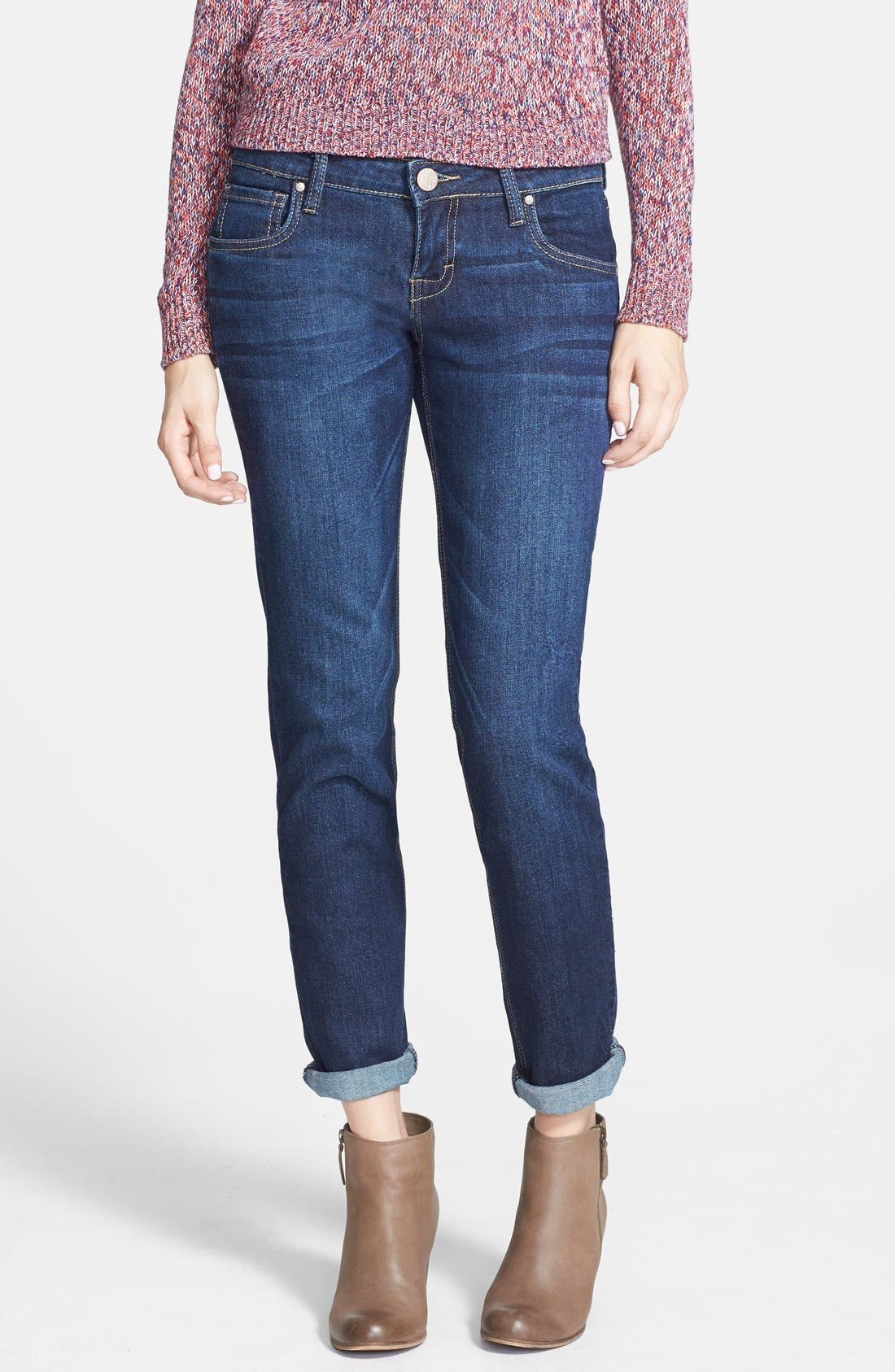 ,                             'Joey' Boyfriend Jeans,                             Main thumbnail 4, color,                             401