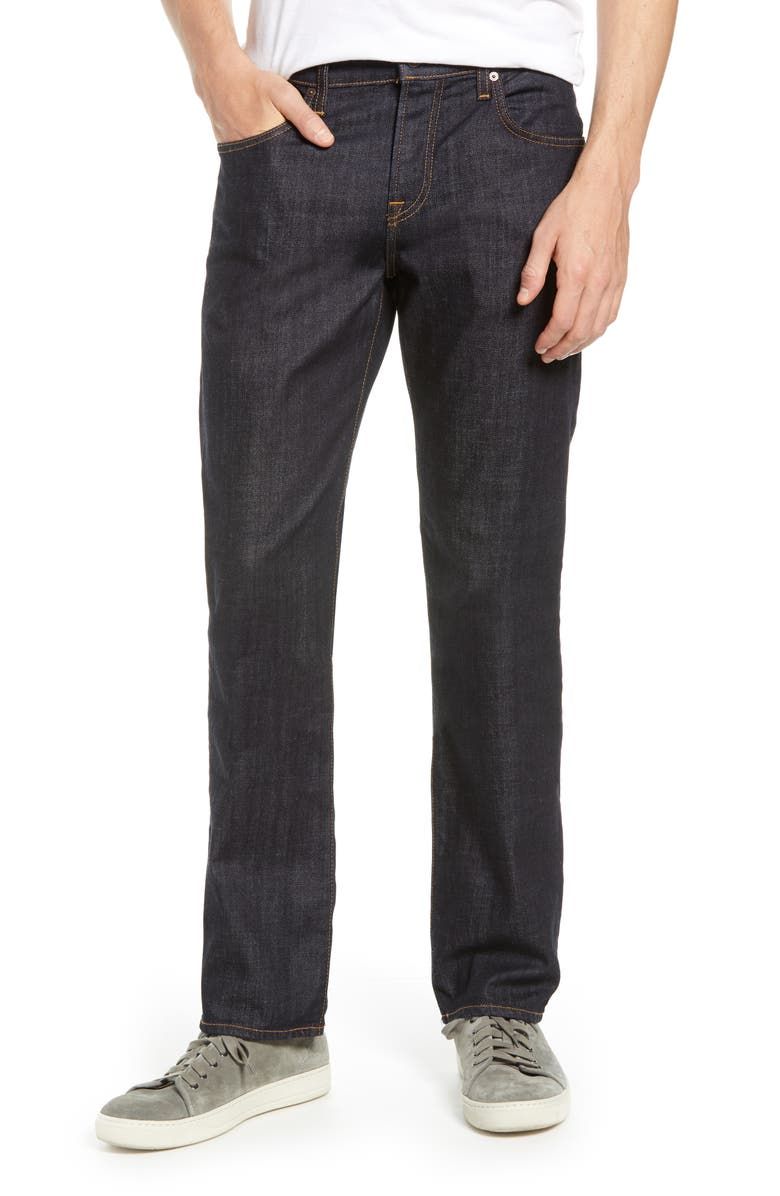 7 FOR ALL MANKIND<SUP>®</SUP> Standard Straight Leg Jeans, Main, color, DARK AND CLEAN