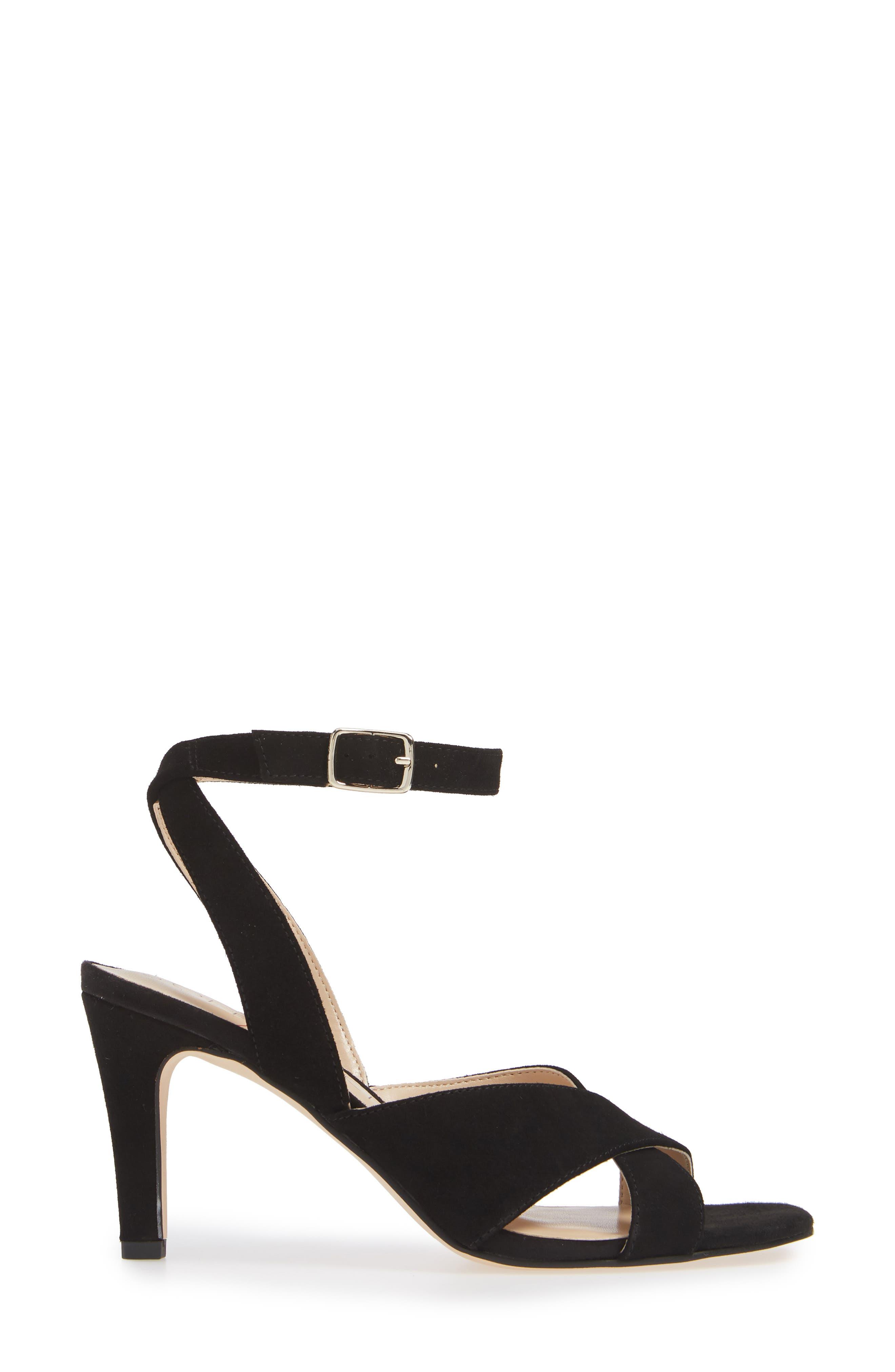 ,                             Cassidea Ankle Strap Sandal,                             Alternate thumbnail 3, color,                             001