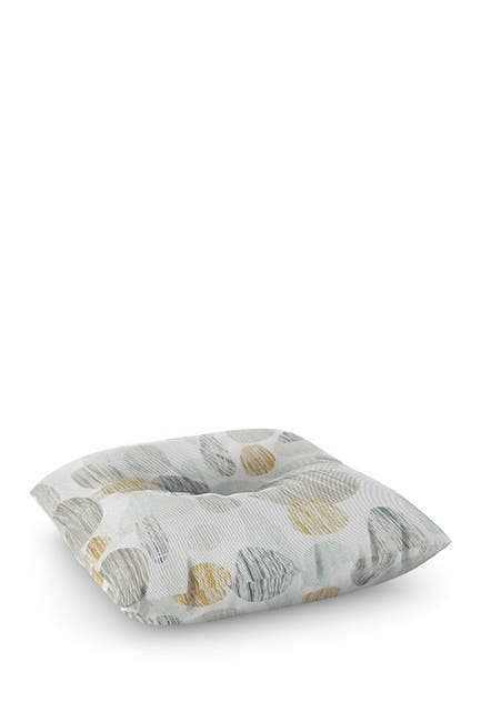 Image of Deny Designs Sharon Turner Pebbles Copper Square Floor Pillow