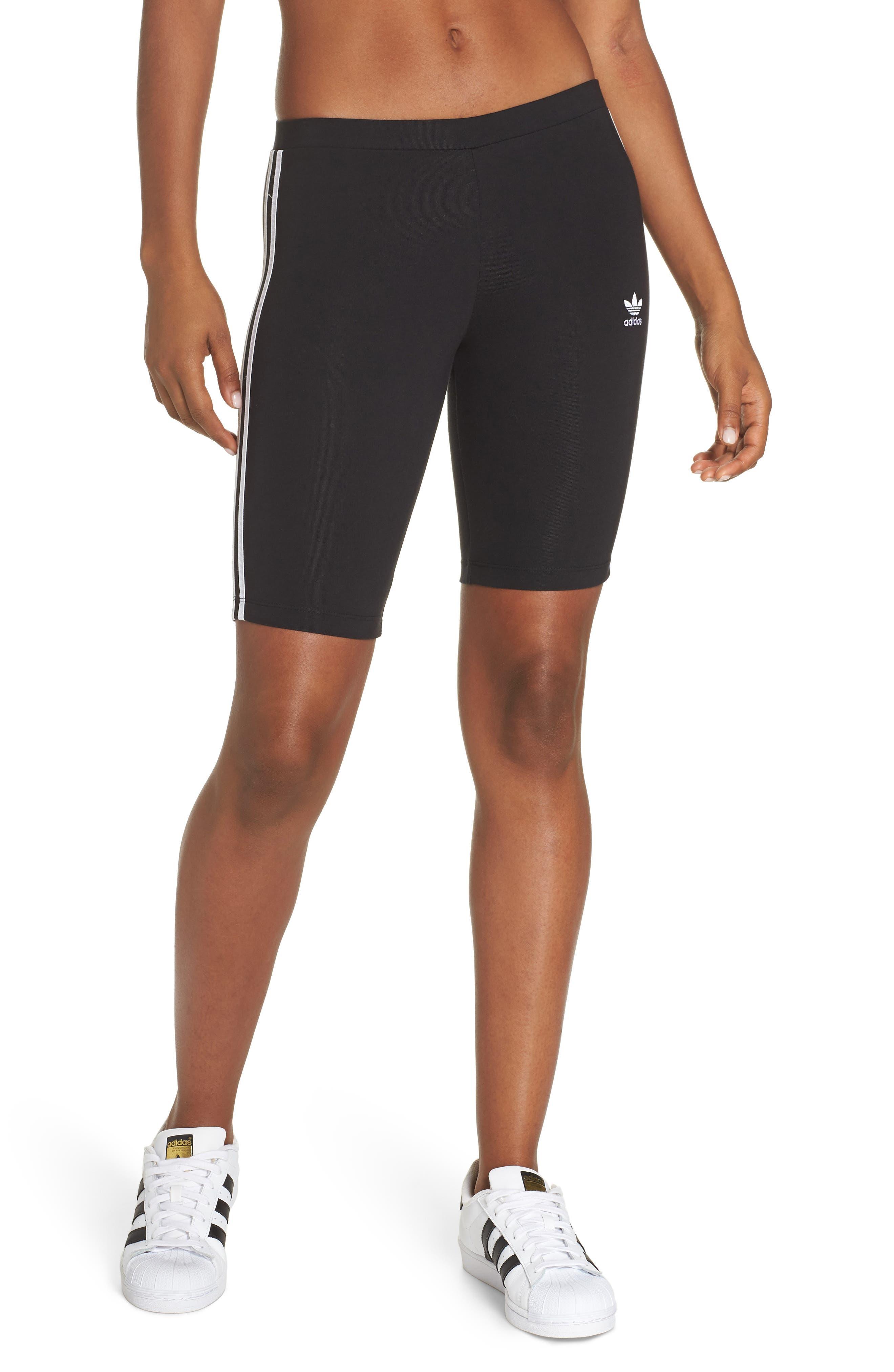 ,                             Cycling Shorts,                             Main thumbnail 1, color,                             BLACK