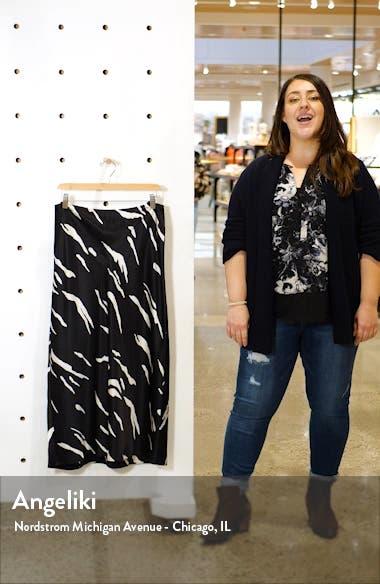 Pratt Silk Midi Skirt, sales video thumbnail