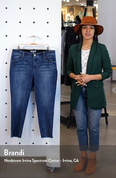 Ab-Solution Crop Skinny Jeans, sales video thumbnail