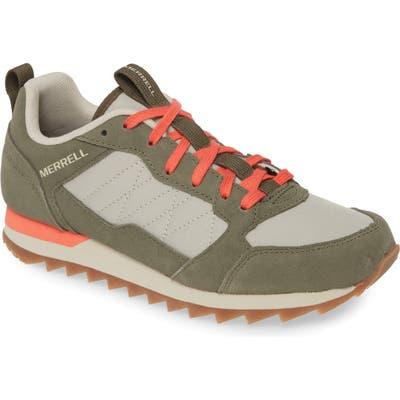 Merrell Alpine Sneaker- Green