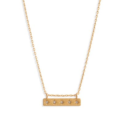 Madewell Star Bar Necklace