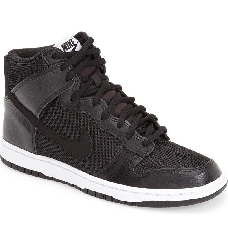 NIKE 'Dunk High Skinny' Sneaker, Main, color, 012