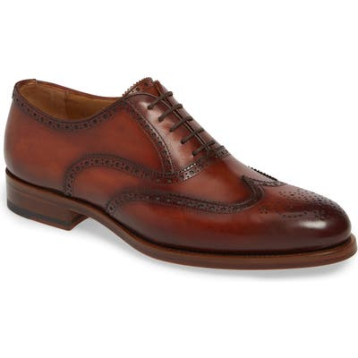 Magnanni Franklin Wingtip- Brown