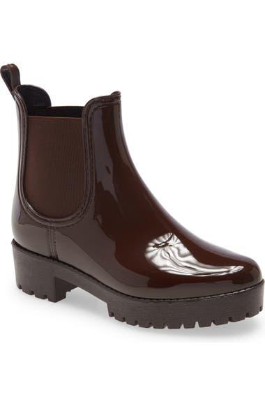 Jeffrey Campbell Cloudy Waterproof Chelsea Rain Boot Women Nordstrom