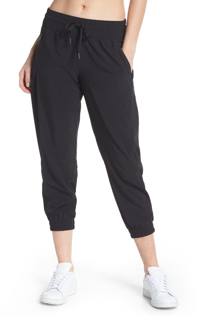 ZELLA Out & About 2 Crop Pants, Main, color, 001