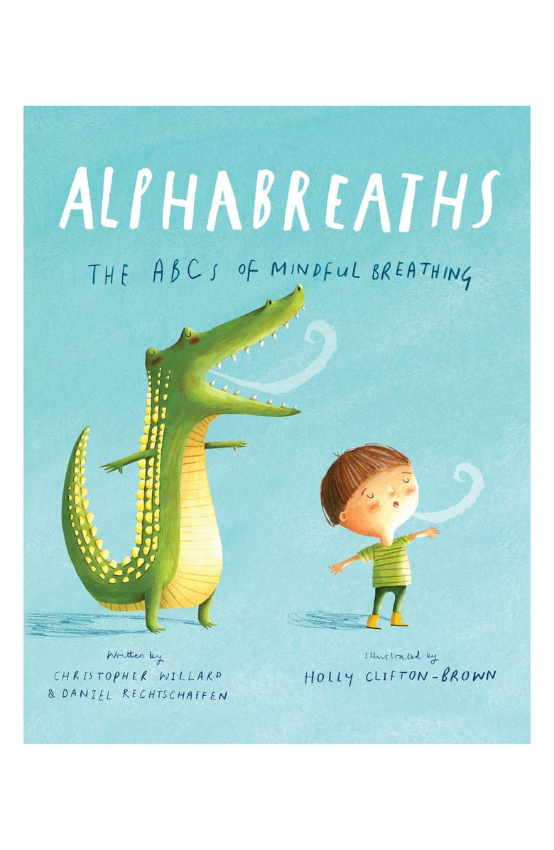 MACMILLAN 'Alphabreaths: The ABCs of Mindful Breathing' Book, Main, color, BLUE / GREEN / WHITE / BEIGE
