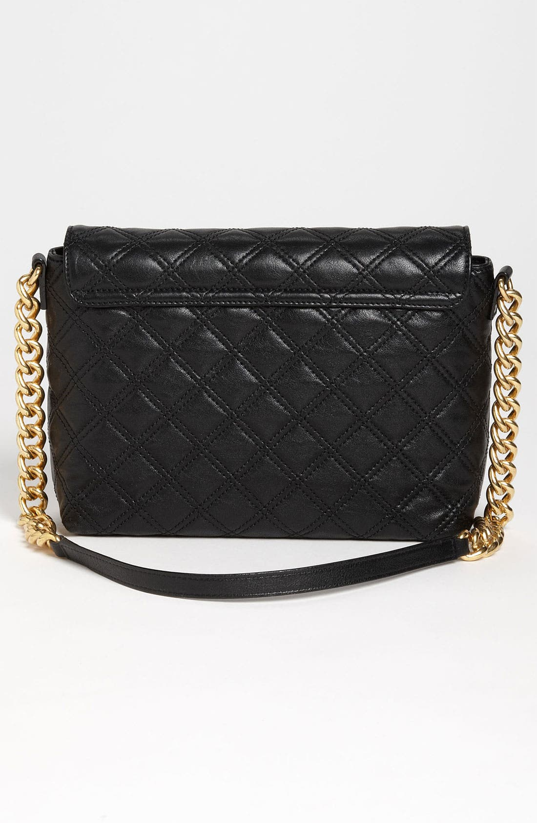 ,                             'Large Quilting Single' Leather Shoulder Bag,                             Alternate thumbnail 11, color,                             004