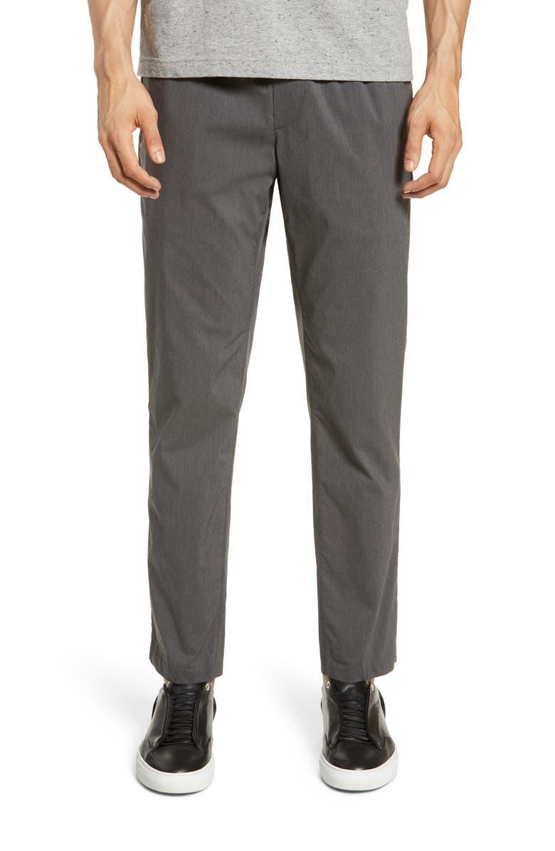 WINGS + HORNS Slim Fit Elastic Waist Dress Pants, Main, color, 020