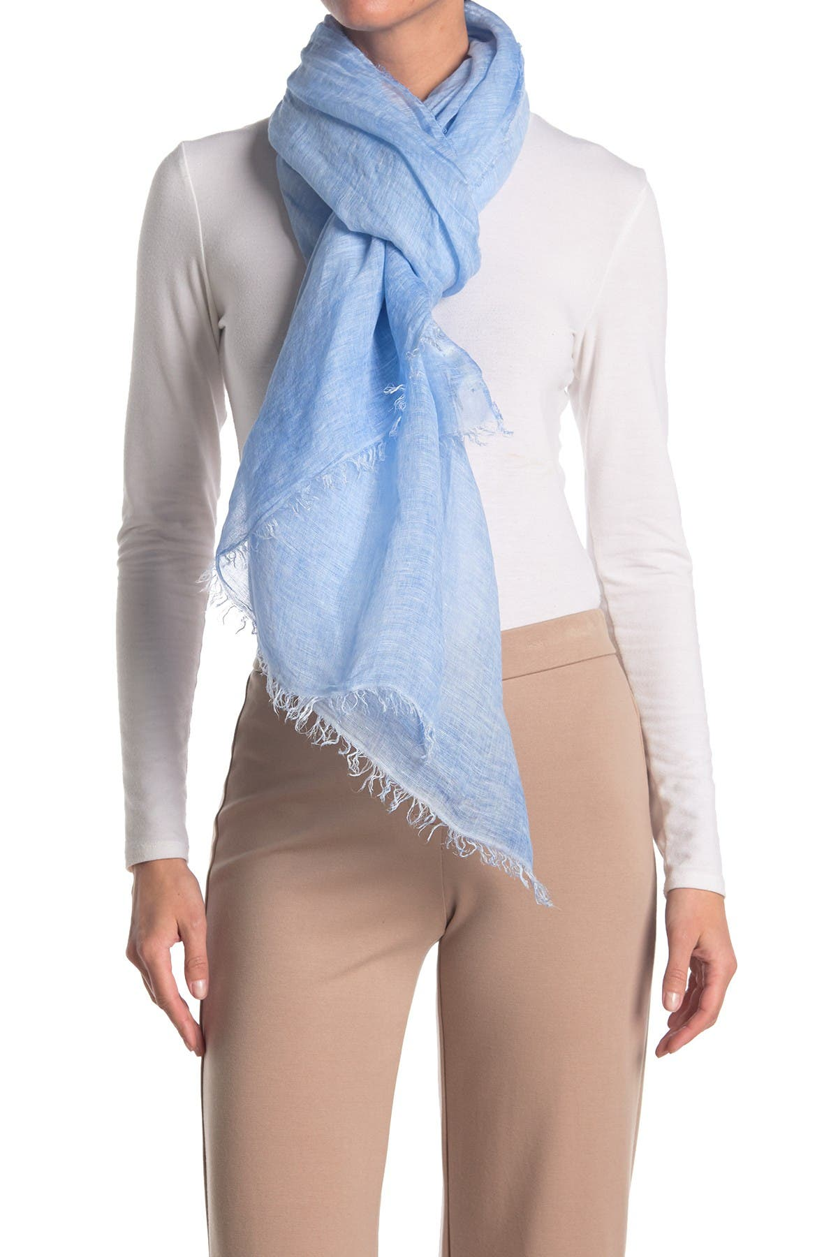 Image of Eileen Fisher Maltinto Modal Organic Linen Scarf
