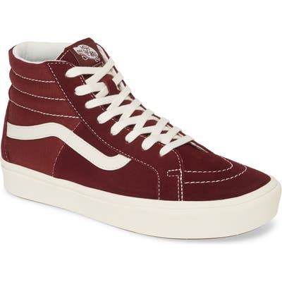 Vans Comfycush Sk8-Hi Split Sneaker, Red