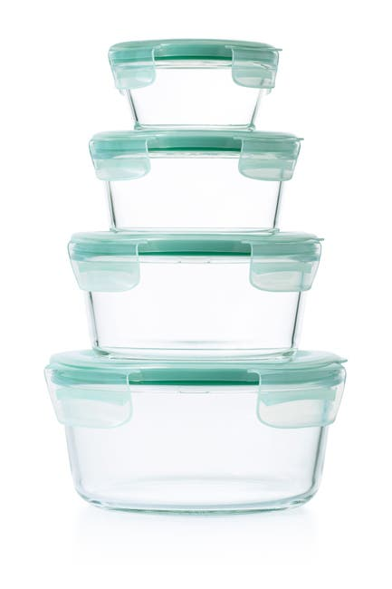Image of Oxo Good Grips 8-Piece Smart Seal Food Storage Container Set
