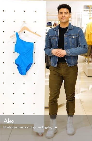 Active One-Shoulder One-Piece Swimsuit, sales video thumbnail