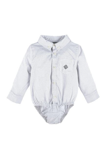 Image of Andy & Evan Collared Long Sleeve Bodysuit